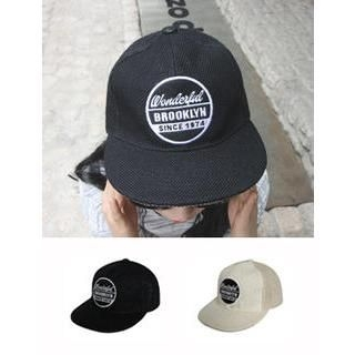 URBAN LADY - Lettering Cotton Cap