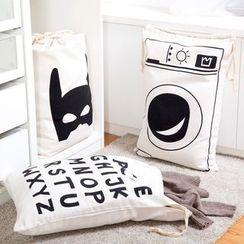 Home Simply - 印花抽绳收纳袋