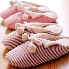 Kawa Simaya - Stripe Couple Slippers