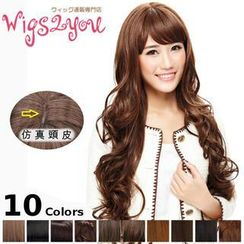 Wigs2You - Full Wig - Long Wavy