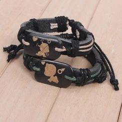 KINNO - Leather Bangle
