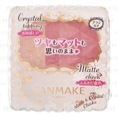 Canmake - Matte and Crystal Cheeks (#01 Apricot Candy)