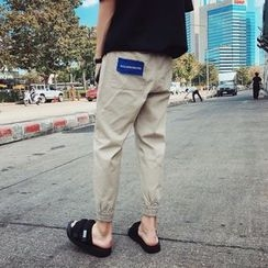 Basique - 贴布绣哈伦裤