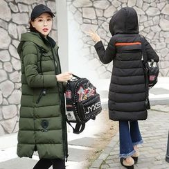 AiSun - Hooded Long Padded Coat