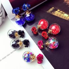 Pop Lop - Floral Through & Through Earrings