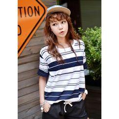DEEPNY - Striped T-Shirt