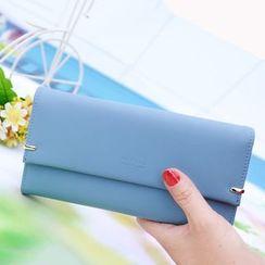 Bellflower - Flap Long Wallet