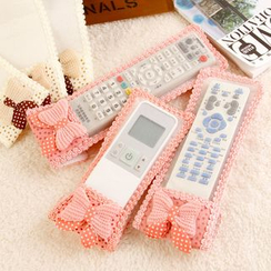 Red Unicorn - Bow-Accent Remote Cover