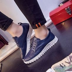 Preppy Boys - Lace-Up Sneakers