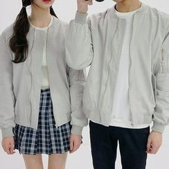 Seoul Homme - Couple Light Bomber Jacket