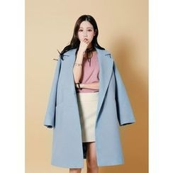 J-ANN - Notch-Lapel Coat