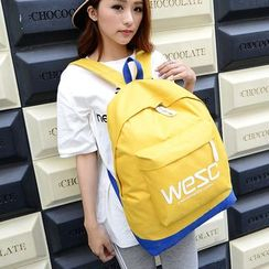Seok - Lettering Lightweight Backpack