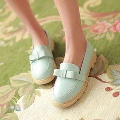 Parkwalker - 蝴蝶結樂福鞋