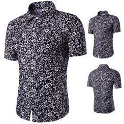 Hansel - Floral Print Short Sleeve Shirt