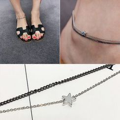 Pop Lop - Star Double Cord Anklet