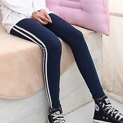 Daisyfield - Striped Skinny Pants