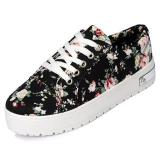 yeswalker - Floral Platform Sneakers