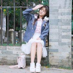 Jade Dragon - 牛仔外套 / 套衫 / 裙子