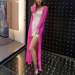 Sakura Rain - Lace Light Jacket