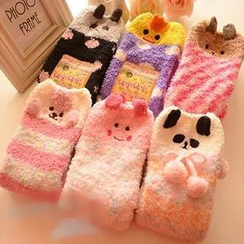 Miya - Animal Fleece Socks