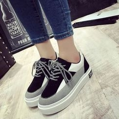 Chryse - Color Block Sneakers