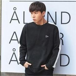 Superstar.i - Contrast-Trim Sweatshirt