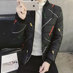 JVI - 印花夾棉外套