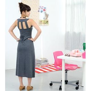 59 Seconds - Multi Strap Maxi Dress