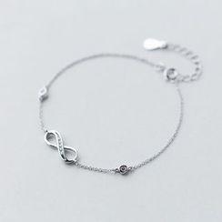 A'ROCH - 925 Sterling SilverInfinity Symbol Bracelet