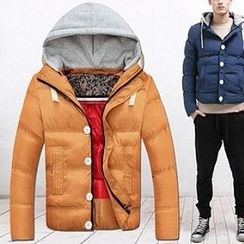 Evzen - Padded Hooded Coat