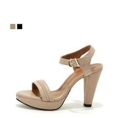 MODELSIS - Platform High-Heel Sandals