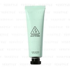 3 CONCEPT EYES - Back To Baby Make Up Base Mint Green