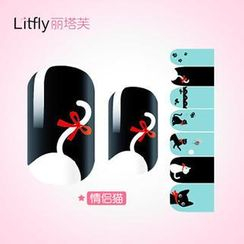 Litfly - Nail Sticker (K1005)