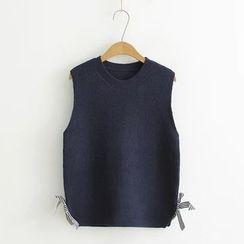 Ainvyi - Bow Knit Vest
