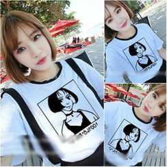 Imogen - Print Short Sleeve T-Shirt