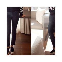 MASoeur - Fray-Hem Straight-Cut Jeans