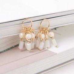Cherryville - Beads Dangle Earrings