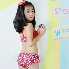 Anfory - Kids Floral Print Bikini