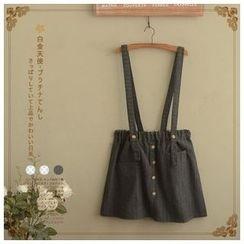 Angel Love - Buttoned Jumper Skirt
