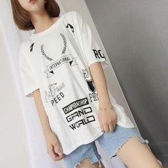 Cerauno - Print Short Sleeve T-Shirt