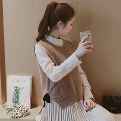 Mida - Bow Knit Vest