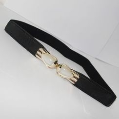 Goldenrod - Elasticised Skinny Belt
