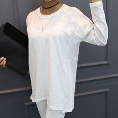 DANI LOVE - Raglan-Shoulder Long-Sleeve T-Shirt
