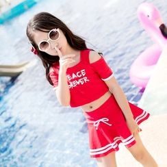 Mermaid's Tale - Kids 2-Piece Swimdress