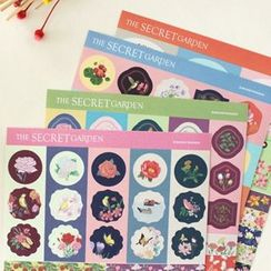 Full House - Bookfriends - Set of 4: Sticker