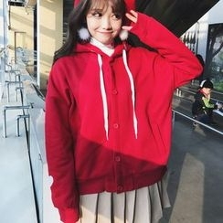 HotBlock - Hooded Embroidered Jacket