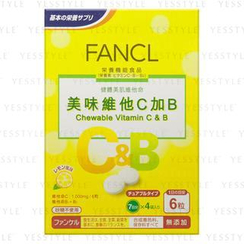 Fancl - Chewable Vitamin C & B