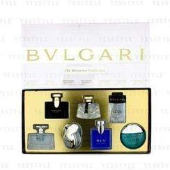 Bvlgari - Miniature Coffret: BLV II, Jasmin Noir, Mon Jasmin Noir, Omnia Crysrailine, Aqva, BLV, Man