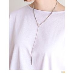 PINKROCKET - Bar-Dangle Chain Necklace