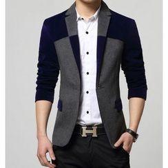 JIBOVILLE - 拼色西裝外套